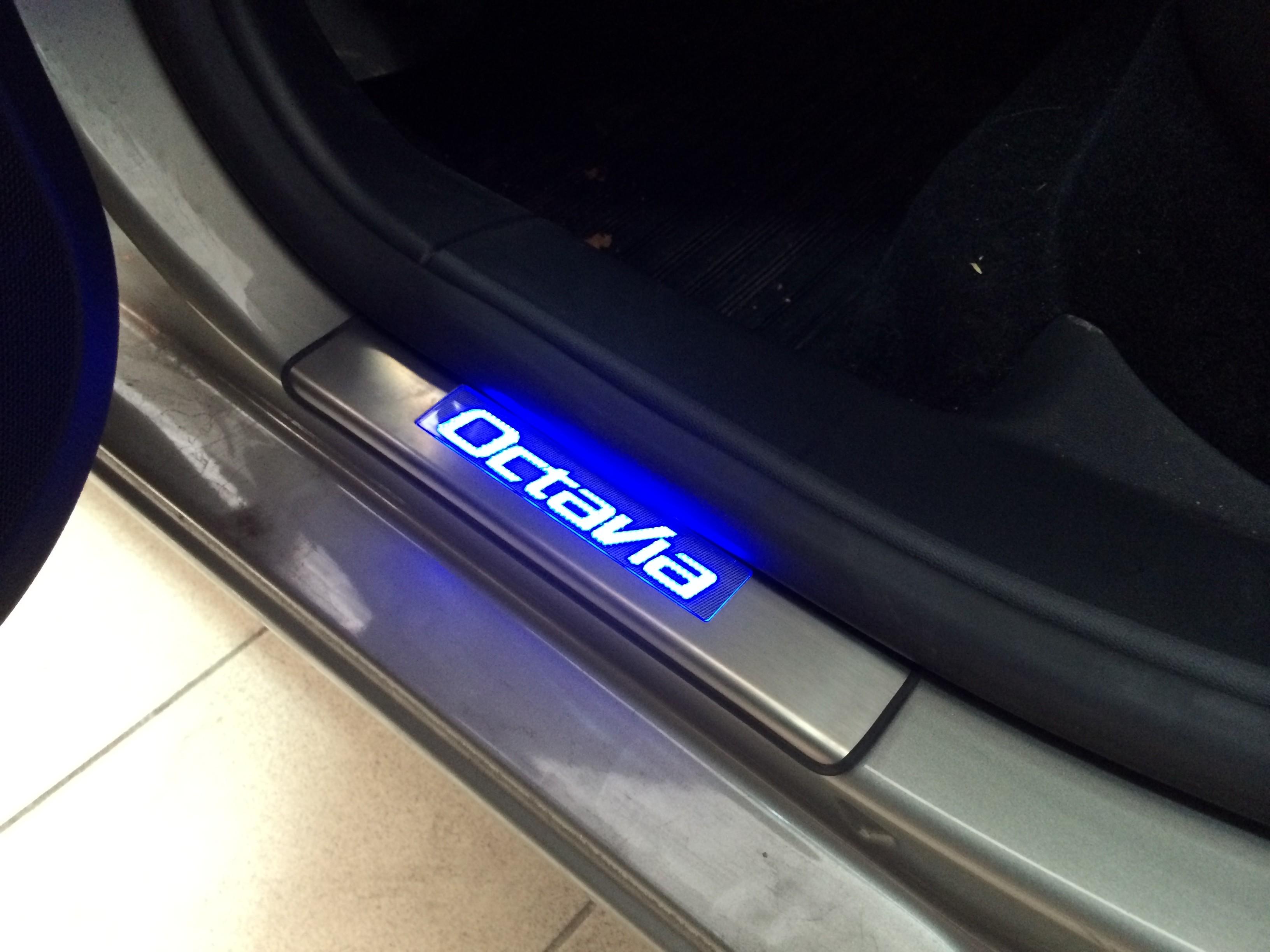 Подсветка порогов автомобиля своими руками 36
